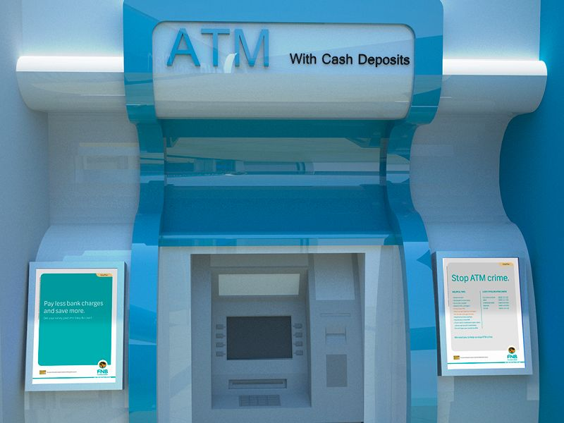 Ink&Feather FNB Smart account7 ATM