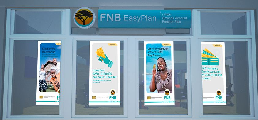 Ink&Feather FNB Smart account branch 5